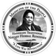 """MEDICINE OF THE PEOPLE """"A LIFE WAY REVOLUTION"""" TRADITIONAL HANDMADE NAVAJO HERBAL REMEDIES"""