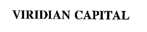 VIRIDIAN CAPITAL
