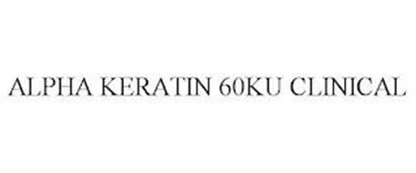 ALPHA KERATIN 60KU CLINICAL