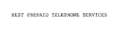 BEST PREPAID TELEPHONE SERVICES