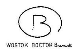 B WOSTOK BOCTOK BOCMOK