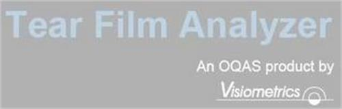 TEAR FILM ANALYZER AN OQAS PRODUCT BY VISIOMETRICS