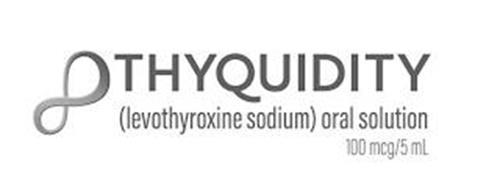 THYQUIDITY (LEVOTHYROXINE SODIUM) ORAL SOLUTION 100 MCG/5ML