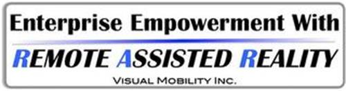 ENTERPRISE EMPOWERMENT WITH REMOTE ASSISTED REALITY VISUAL MOBILITY INC.
