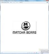 MATCHA BEARS