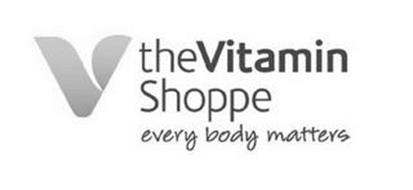 V THE VITAMIN SHOPPE EVERY BODY MATTERS
