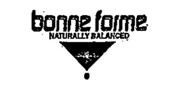 BONNE FORME NATURALLY BALANCED