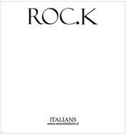 ROC.K ITALIANS WWW.WEAREITALIANS.IT