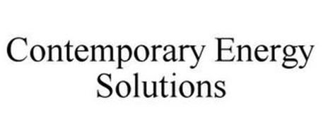 CONTEMPORARY ENERGY SOLUTIONS