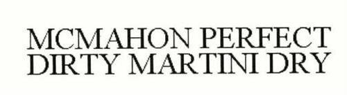 MCMAHON PERFECT DIRTY MARTINI DRY