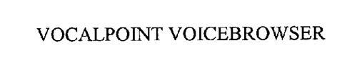 VOCALPOINT VOICEBROWSER