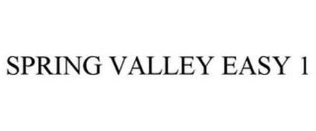 SPRING VALLEY EASY ONE