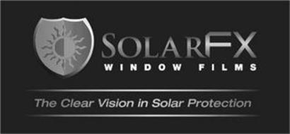 SOLARFX WINDOW FILMS THE CLEAR VISION IN SOLAR PROTECTION