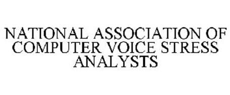 NATIONAL ASSOCIATION OF COMPUTER VOICE STRESS ANALYSTS