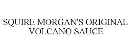 SQUIRE MORGAN'S ORIGINAL VOLCANO SAUCE