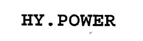 HY.POWER Trademark of Volkswagen Aktiengesellschaft Serial ...