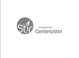 STIR POWERED BY CENTERPLATE