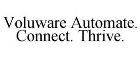 VOLUWARE AUTOMATE. CONNECT. THRIVE.