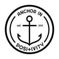 ANCHOR IN POSITIVITY EST 2013