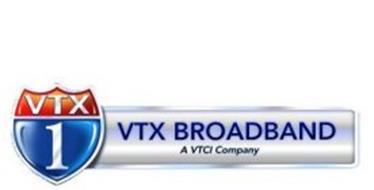 VTX 1 VTX BROADBAND A VTCI COMPANY