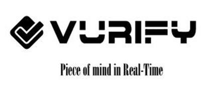 VURIFY PEACE OF MIND IN REAL-TIME