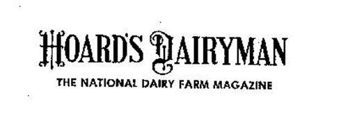 HOARD'S DAIRYMAN THE NATIONAL DAIRY FARM MAGAZINE