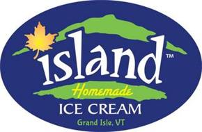 ISLAND HOMEMADE ICE CREAM GRAND ISLE, VERMONT