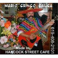 MARIO GRINGO SALSA 619-408-2101 MADE IN HANCOCK STREET CAFE