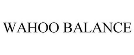 WAHOO BALANCE