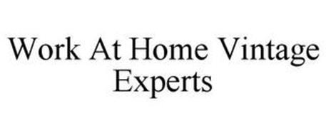 WORK AT HOME VINTAGE EXPERTS