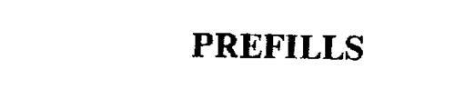 PREFILLS