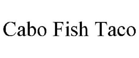 Cabo fish taco trademark of walker crenshaw inc serial for Renew nc fishing license