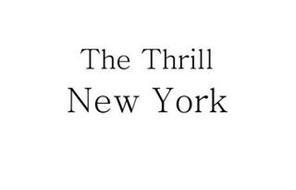 THE THRILL NEW YORK
