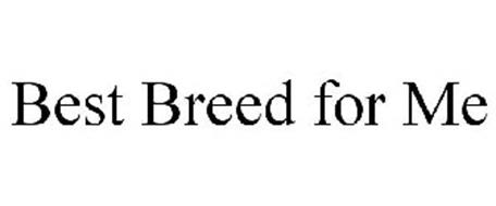 BEST BREED FOR ME