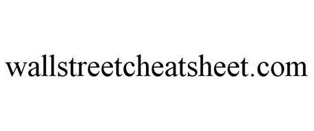 WALLSTREETCHEATSHEET.COM