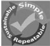 SIMPLE SUSTAINABLE REPEATABLE