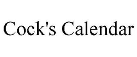 COCK'S CALENDAR