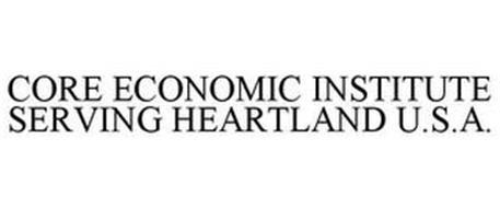 CORE ECONOMIC INSTITUTE SERVING HEARTLAND U.S.A.