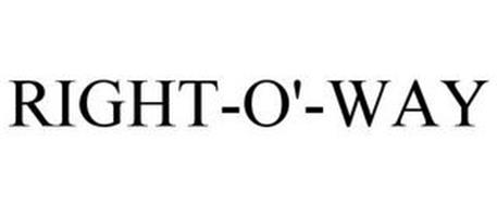 RIGHT-O'-WAY