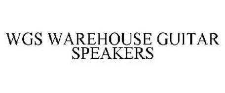 WGS WAREHOUSE GUITAR SPEAKERS