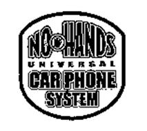 NO HANDS UNIVERSAL CAR PHONE SYSTEM