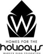 W HOMES FOR THE HOLIDAYS WARRICK DUNN FOUNDATION