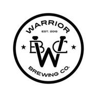 WARRIOR BREWING CO. EST. 2015 WBC
