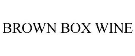 BROWN BOX WINE