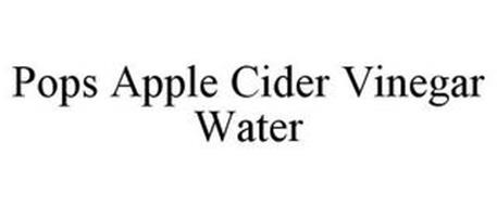 POPS APPLE CIDER VINEGAR WATER