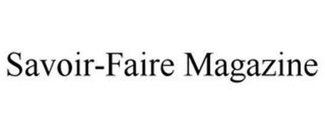 SAVOIR-FAIRE MAGAZINE