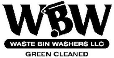 WBW WASTE BIN WASHER LLC GREEN CLEANED