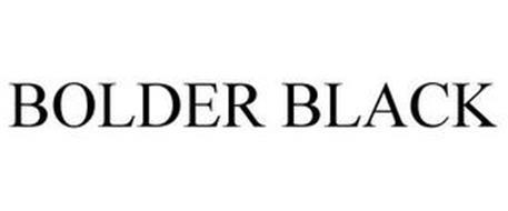 BOLDER BLACK