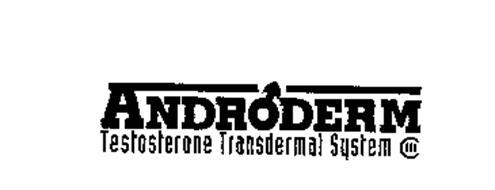 ANDRODERM TESTOSTERONE TRANSDERMAL SYSTEM