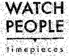 WATCH PEOPLE TIMEPIECES